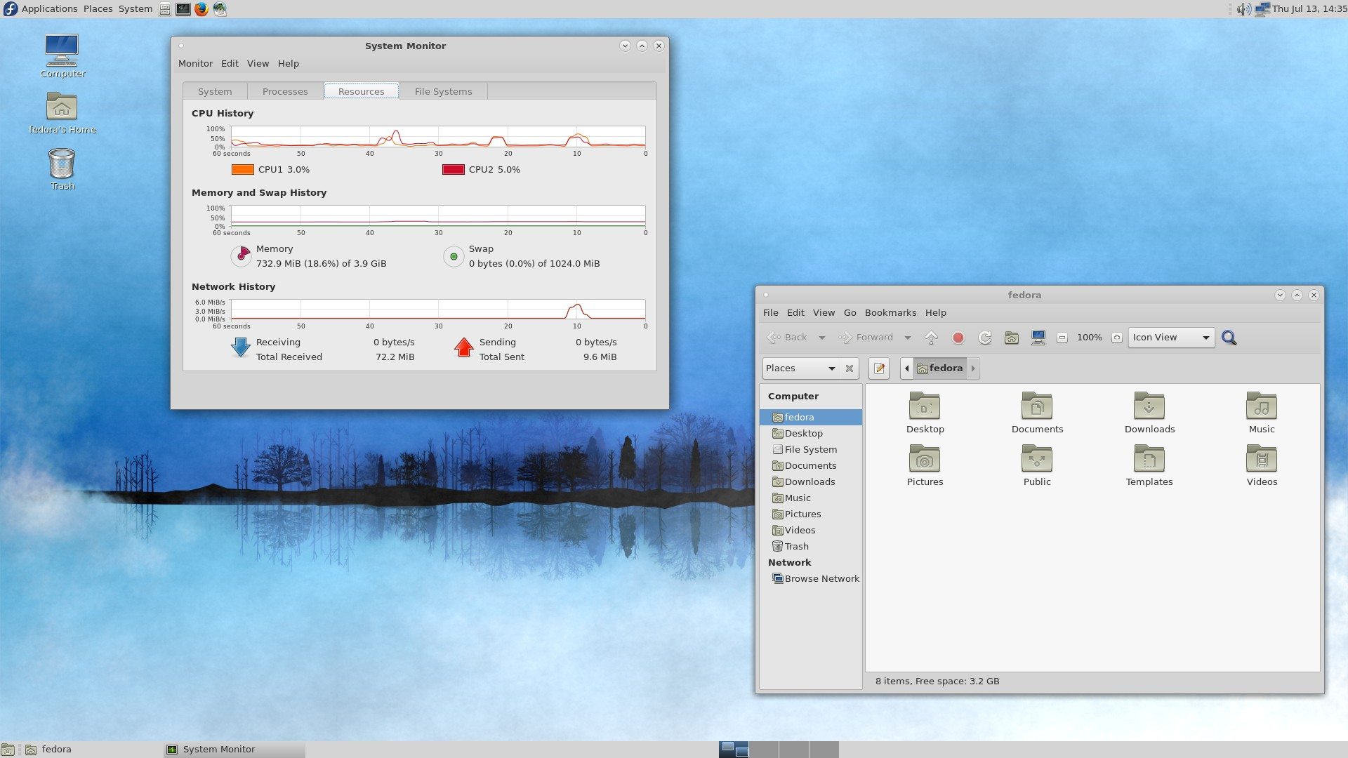 MATE-Compiz Screenshot